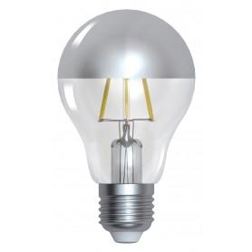 """STANDARD """"SILVER CAP"""" A60 LED Calotte argentée 6W 2700K E27 750lm"""