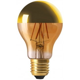 """STANDARD """"GOLDEN CAP"""" A60 LED Calotte dorée 6W 2700K E27 750lm"""