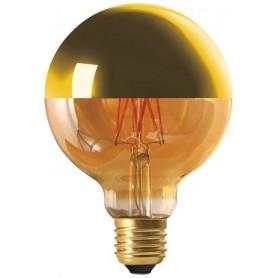 "GLOBE ""GOLDEN CAP"" Diam95 LED Calotte dorée 8W 2700K E27 950lm"