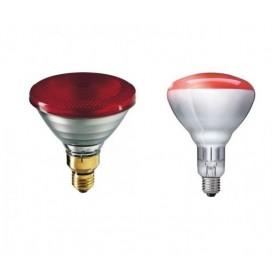 "Lampe halogène ""INFRAROUGE"" 175W E27"