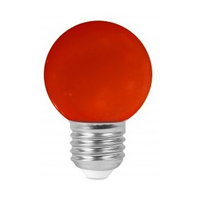 "Sphérique ""COLORED GOLFBALL"" Rouge 1W E27"
