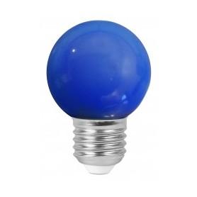 "Sphérique ""COLORED GOLFBALL"" Bleu 1W E27"