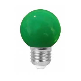 """Sphérique """"COLORED GOLFBALL"""" Vert 1W E27"""