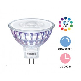 "Philips Master ""LEDspotValue 5,5W"" GU5,3 --- (6 déclinaisons)"
