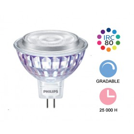 "Philips Master ""LEDspotValue 7W"" GU5.3 --- (6 déclinaisons)"