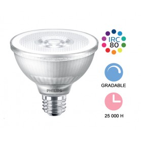 "Lampe LED ""PAR30 9W"" E27 --- (3 déclinaisons)"