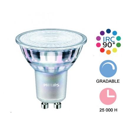 """Philips """"MASTER LED VLE 4,9W"""" GU10 --- (6 déclinaisons)"""