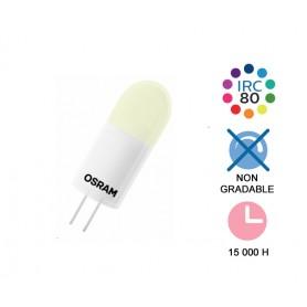 "Capsule LED ""PIN G4 0,9W"" 12V 2700K"