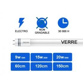 """CorePro T8 """"LEDTUBE GLASS"""" Electro G13 --- (6 déclinaisons)"""