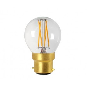 """SPHERIQUE G45"" LED Claire 4W 2700K B22 350lm"