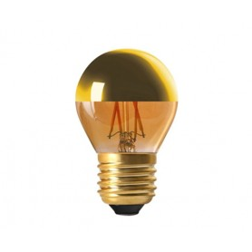 "SPHERIQUE ""GOLDEN CAP"" G45 LED Calotte dorée 4W 2700K E27 350lm"