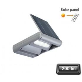 """Applique Solaire LED """"MINI LEDSPOT"""" Gris 6X1W 100lm"""