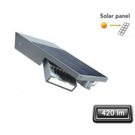 """Applique Solaire LED """"TILLY"""" Gris 2X2W 420lm"""