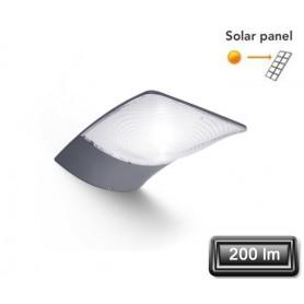"""Applique Solaire LED """"ZERTA"""" Gris 3W 200lm"""