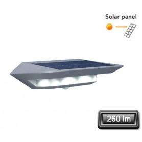"""Applique Solaire LED """"GHOST"""" Gris 2,4W 260lm"""