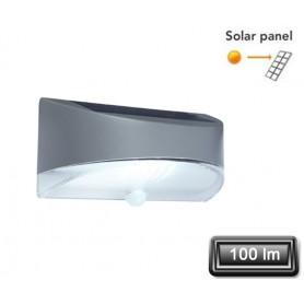 """Applique Solaire LED """"BREAD"""" Gris 1,2W 100lm"""