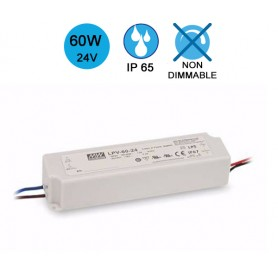 Alimentation MEANWELL IP65 60W 24V