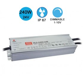Alimentation MEANWELL IP67 240W 24V