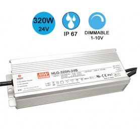 Alimentation MEANWELL IP67 320W 24V
