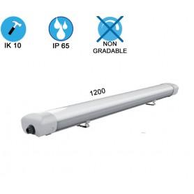 """Réglette étanche LED """"AL 1200"""" 40W IP65 --- (3 déclinaisons)"""