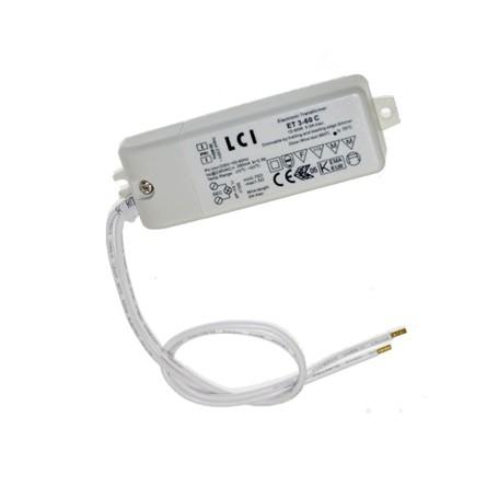 Transformateur 3 à 60VA 12V LED ou halogène