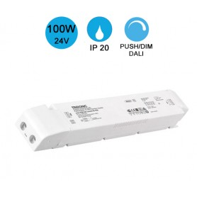Alimentation TRIDONIC PUSH/DIM IP20 100W 24V