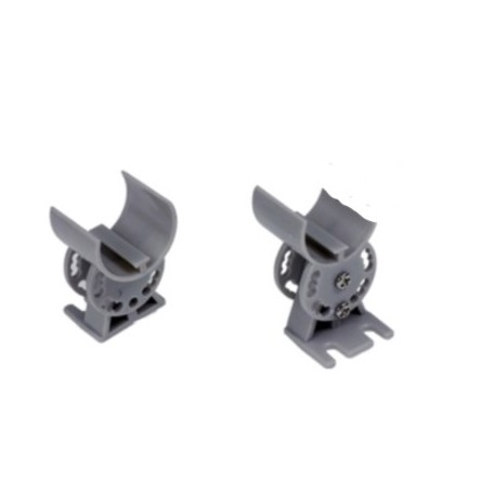 Support Orientable pour PROFILE ALU ROND
