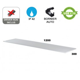 "Dalle LED ""FLAT 120"" Standard 40W --- (2 déclinaisons)"