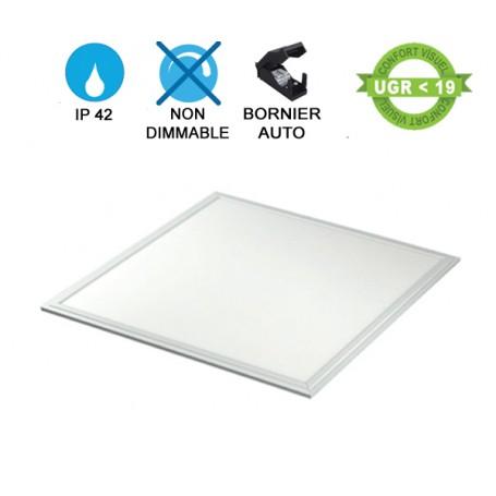 Dalle LED 60X60 encastré blanche 40W avec driver non dimmable